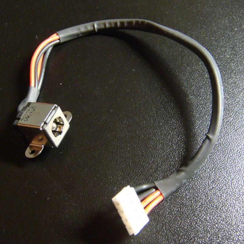 Разъем питания ноутбука Toshiba, Asus тип G233 2.5мм вид 1