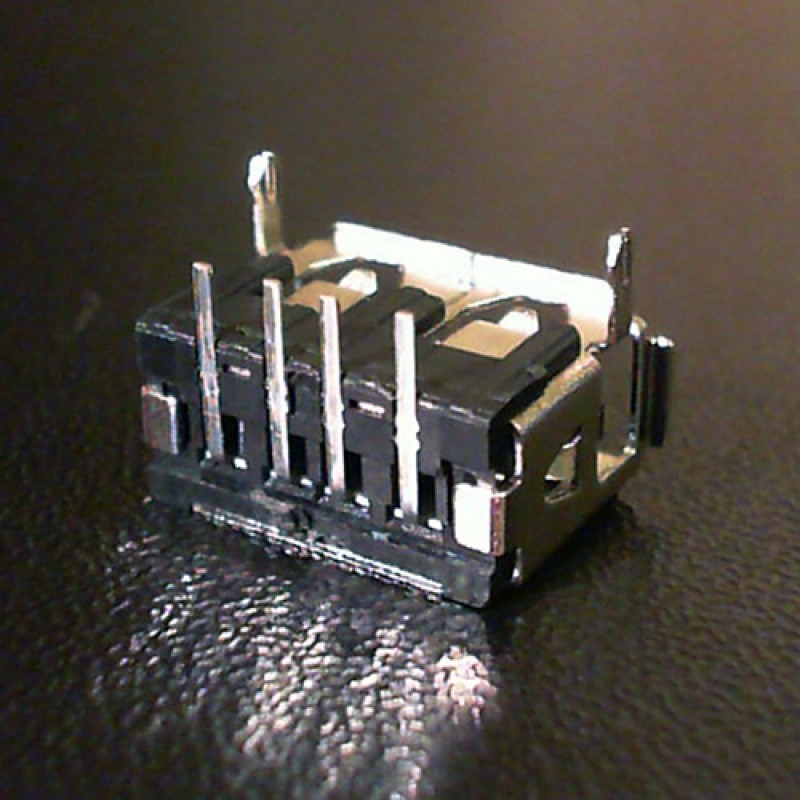Разъем USB ноутбука тип USB01 вид 1