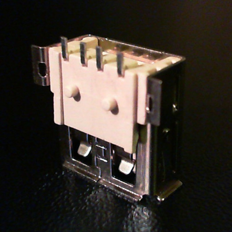 Разъем USB ноутбука тип USB02 вид 2