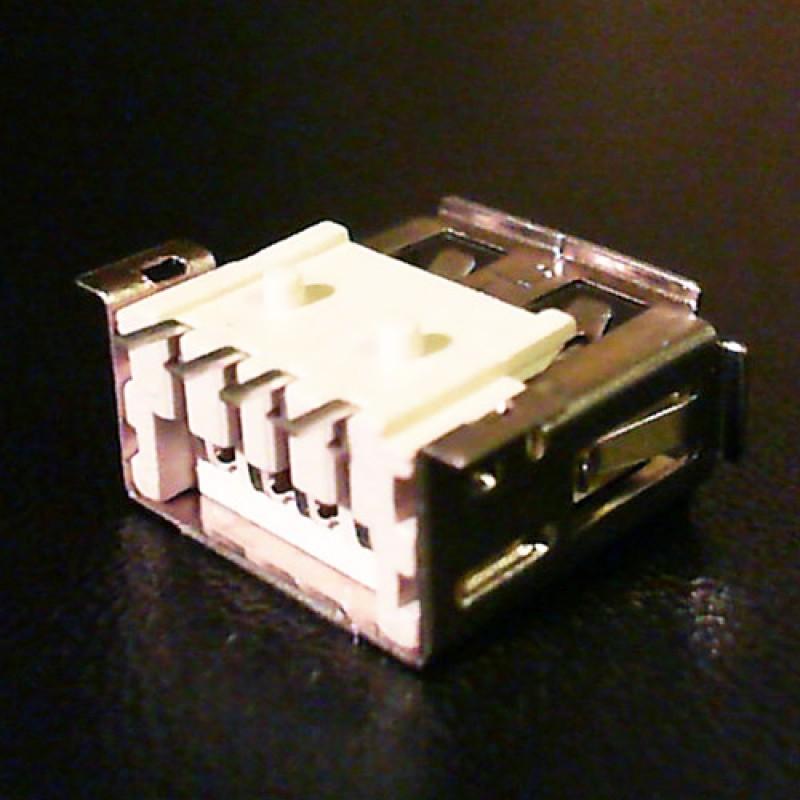Разъем USB ноутбука тип USB02 вид 3