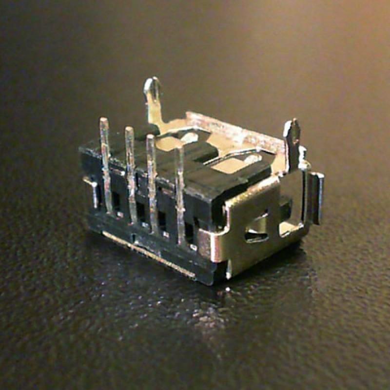 Разъем USB ноутбука тип USB04 вид 3